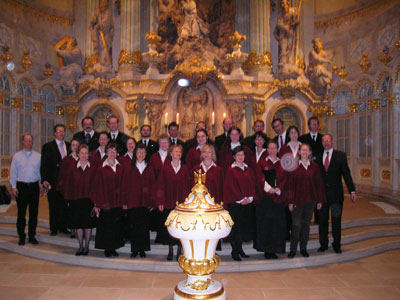 The Embassy Singers in Dresden, 2007