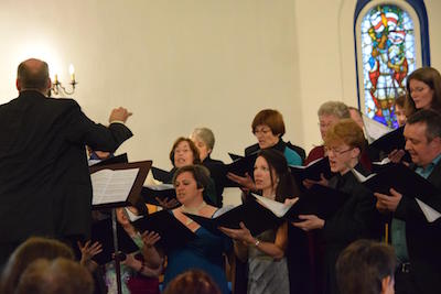 Concert in St George's Church, June 2014 © Penny Watts