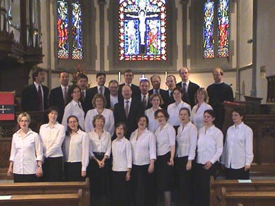 The Embassy Singers in Zurich, 2004
